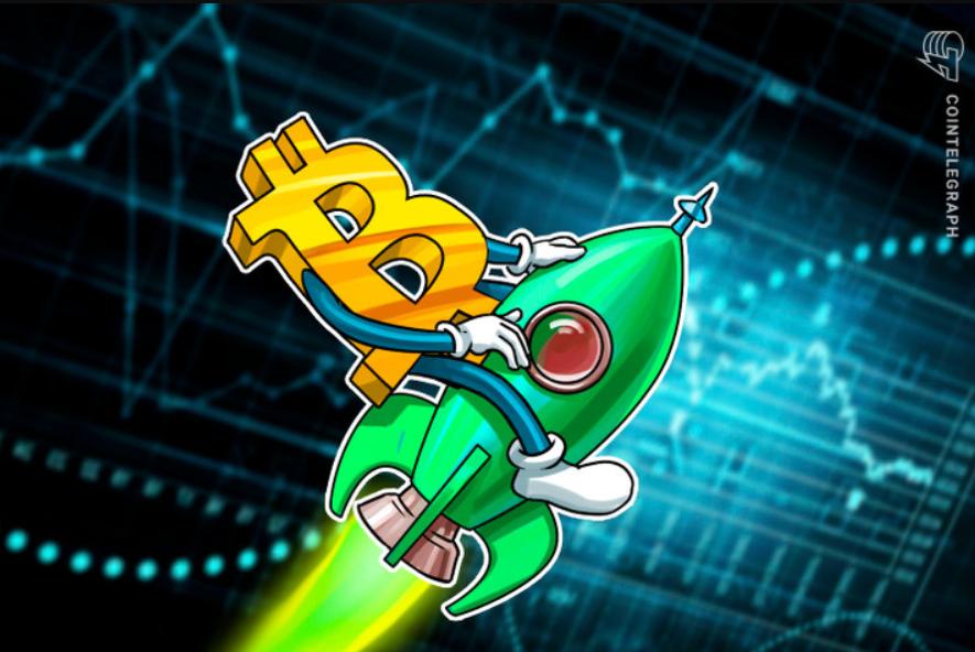 Inštitucionálne FOMO - Bitcoin futuers kontrakty dosiahli objem 841 MIliónov USD.