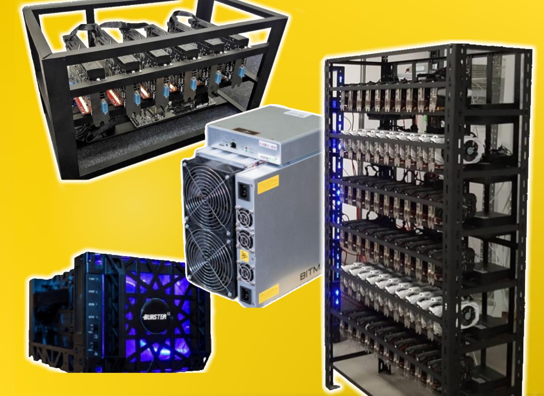 Profi výroba a predaj ASIC / GPU / HDD Minerov