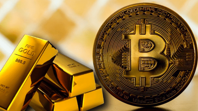 Ľudia sa zbavujú zlata, aby nakúpili Bitcoin.