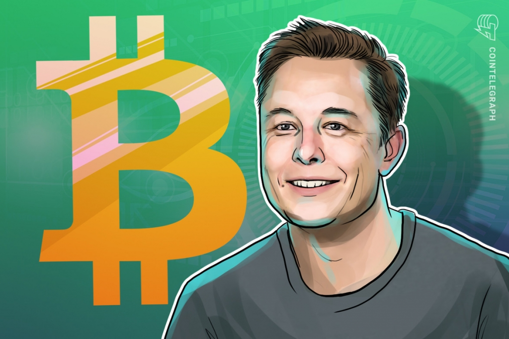 Elon Musk pridáva bitcoin na Twitter s 43,7 miliónmi sledovateľov.