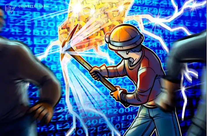 Ťažiari od februára vyťažili bitcoiny v hodnote 600 miliónov dolárov